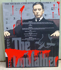 Famous Pop Art THE GODFATHER by Steve Kaufman SAK