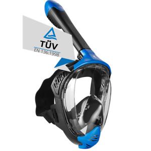 Schnorchelmaske Vollmaske Tauchermaske Tauchmaske Taucherbrille Khroom Seaview