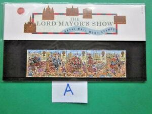 1989 THE LORD MAYOR'S SHOW, LONDON PRESENTATION PACK.( A )