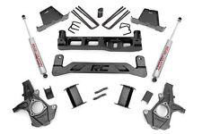 "Chevy GMC 1500 Pickup 7.5"" Suspension Lift Kit w/ N2.0 Shocks 2007-2013 2WD"