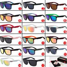 Lote de 17 Colores Con Caja Quiksilver elegante hombres mujeres al aire libre gafas de sol UV400