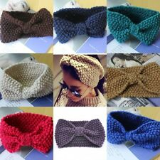 Celebrity Women Girls Winter Ear Crochet Knitted Headband Hairband Headwrap Gift