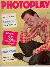 Photoplay - Pat Boone on Cover - 1958