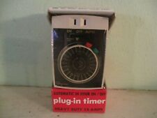 Ingraham Heavy-Duty 24 Hr. Appliance Timer Model 12-010 (new, old stock)