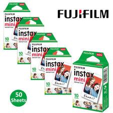 Fujifilm Instax Mini Film Instant 50 Pictures For Fuji 8 9 25 50 90 Camera SP-2
