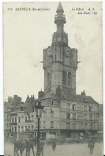 Vintage Black & White Postcard of Le Beffroi Bethune France