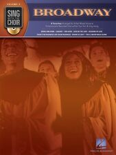 Broadway Sing with the Choir Volume 2 Sing with the Choir Book and CD 000333002