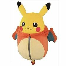 Ichiban Kuji Pokemon Pikachu in Charizard Sleeping Bag Nebukuro Plush Toy 12""