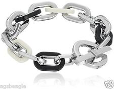 Michael Kors Bracelet MKJ5438040 Color Block Chain Link Acetate Toggle Agsbeagle
