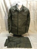 Vintage East German Military Field Combat Camouflage New Uniform Medium UNISSUED