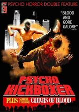 Psycho Kickboxer / Canvas Of Blood (DVD, 2008) (P)