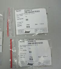 VICI Jour JR-050BK-10 Nut, Polyacetal, flangeless 1/8, 1/4 -28, Black Pack of 15
