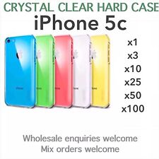 iphone 5c crystal clear thin hard case wholesale