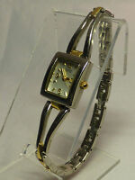 BULOVA CARAVELLE 45L92 LADIES CASUAL WATCH SILVER DIAL S/S & G/P ANALOG MODERN