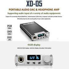 "XDUOO XD-05 DSD DAC Audio Headphone Amplifier 0.91"" OLED Screen 32bit / 384KHz"