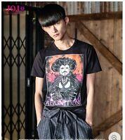 JoJo's Bizarre Adventure Part 5 glamb T-shirt Black Polpo Black Sabbath Rare
