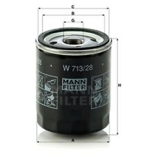 Mann W713/28 Oil Filter Spin On 93mm Height 76mm Outer Diameter Service