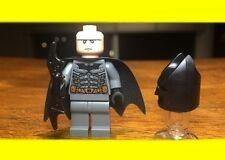LEGO BATMAN DARK BLUISH GRAY SUIT TYPE I COWL MINIFIGURE SET# 7888 TUMBLER RARE