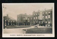 London Wandsworth ROEHAMPTON Queen Mary's Hospital c1920s? RP PPC