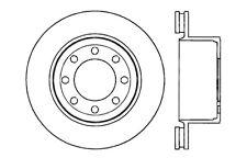 Centric Parts 121.65113 Rear Disc Brake Rotor