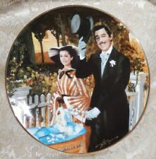 1989 Gone With The Wind Plate STROLLING IN ATLANTA Golden Anniversary GWTW