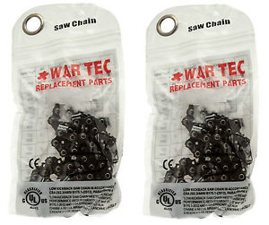 WAR TEC Professional Chainsaw Saw Chain  FITS STIHL Chainsaws **PACK OF 2**