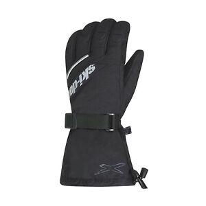 Ski-Doo 2021 X-Team Nylon Snowmobile Gloves (3X, Black) 4462931690