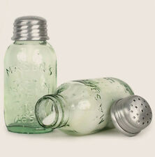 Reproduction Mason Jar SALT & PEPPER Shakers