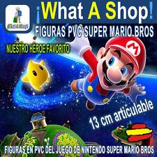 Figura Mario Bros Luigi Yoshi en PVC de 13 cm altura Nintendo Figure Mario Bros