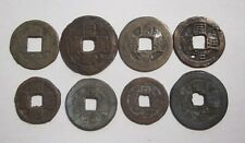 China ND(1862-74) T'ung-chih Tung-pao 10 Cash and 1 Cash Coin x 8