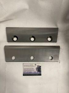 Chipper Blades To Fit Jensen A425 Machine (BRAND NEW PAIR)