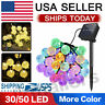 30/50 Led Outdoor Solar LED String Light Garden Patio Yard Christmas Lamp Party