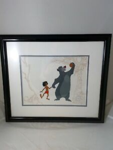 """Disney Limited Edition Sericel """"Mowgli and Baloo"""" Print from The Jungle Book"""