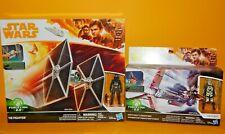 Star Wars SOLO TIE Fighter & Enfys Nest with Speeder Bike