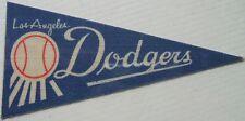 MLB vintage Los Angeles Dodgers (MLB) mini baseball pennant sticker