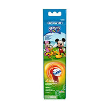 Oral-B Stages Power Kids Replacement Brush Heads Disney Mickey Pack of 4