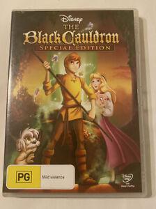 Disney DVD - THE BLACK CAULDRON (1985 Movie) Region 4