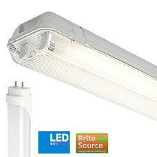 Non corrosif IP65 2FT Simple T8 Avec Brite Source Lumière jour 6000k LED Tubes