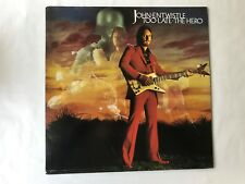 "JOHN ENTWISTLE THE WHO SOLO VINYL PROMO LP ""TOO LATE THE HERO"" ATCO SD 38142 EX"