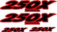 Honda Fourtrax 250x  Decal set stickers moto hrc