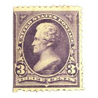 US Stamps # 253 XF OG H Fresh Scott Value $110.00