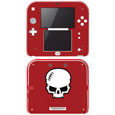 Vinyl Skin Decal Cover for Nintendo 2DS - Madrockstars Skull