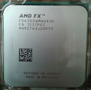 AMD FX-6300 FX6300 3.5GHZ Hex 6 Core CPU Socket FD6300WMW6KHK AM3+ Processor