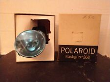 Polaroid Flashgun 268 In Factory Box