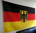 Deutschland Flagge mit Adler 150 x 250 cm XXL Fahne sehr groß  SPA