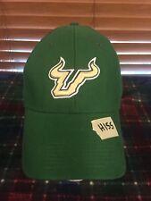 Men's NWOT NIKE TEAM South Florida Bulls Green Stretch Hat H155