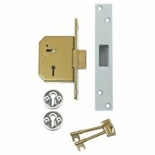 CHUBB / Union  3G115 High Security Mortise Deadbolt Satin Chrome Finish-LQQK!