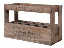 1 x 10 Bouteille Taille vin français Crate-Véritable en Bois original vintage industriel