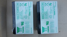 Yuasa Valve Regulated Lead Acid Battery 12V 45W/Cell 10min. REW45-12 (2 PIECES)