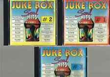 Juke-Box / Soul Hits CD 1 + 2 + 3 - Siehe Fotos